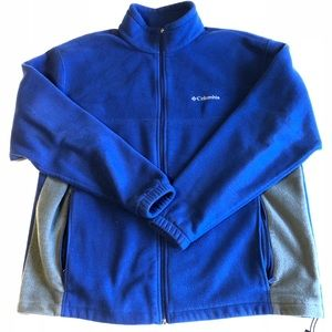 🎉BOGO50% Columbia Men's Fleece ZIP Up